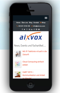 aixvox on iphone5