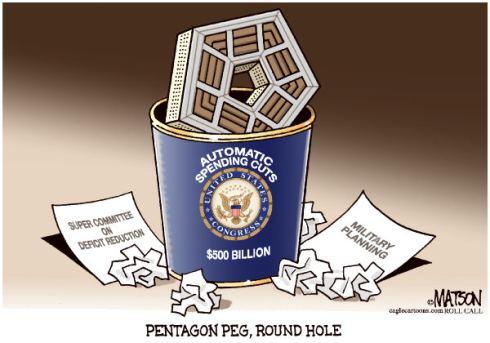 Pentagon Peg Round Hole